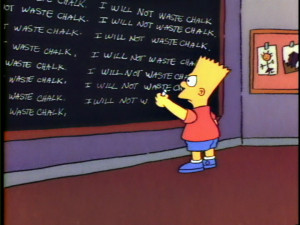 It appears that the blackboard first came into American education ...