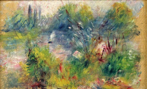 If you get a chance to look at some Renoir paintings in real life, don ...