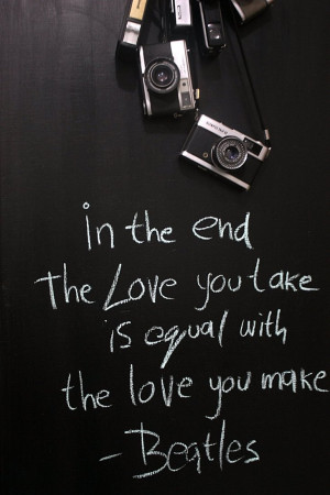 Today's Quotes Always The Love You Take is equal The Same the love ...