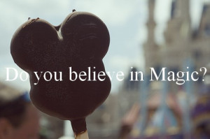 believe, disney, magic, quote, text, typography