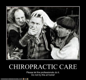 ... you away from chiropractic care for your spine and nervous system