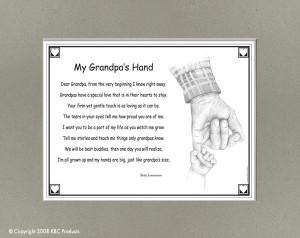My Grandpas Hand