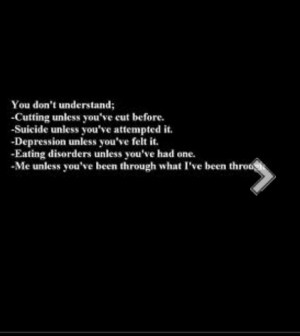 Self Harm Quotes About Sayings