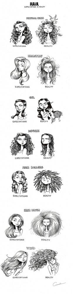 Long Hair: Expectations vs. Reality