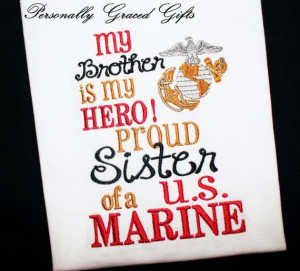 Military My Brother Daddy Mommy is My Hero Proud Sister Son Daughter ...