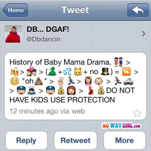 Baby Mama Drama from NoWayGirl.com
