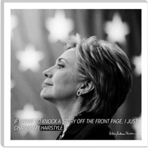 Hillary Clinton Quote Canvas Art Print