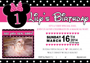Minnie Mouse Sayings Birthday A minnie mouse 1st birthday