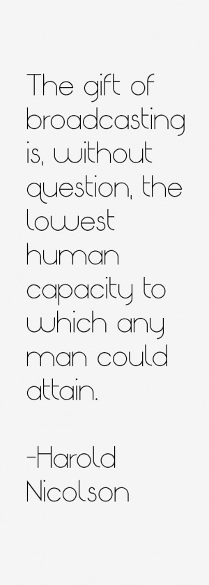 Harold Nicolson Quotes & Sayings