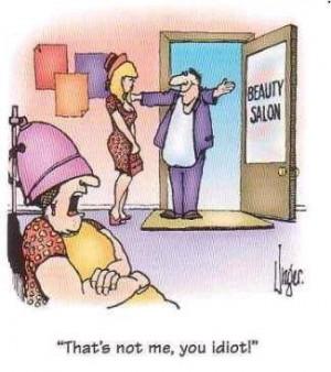 Beauty Salon That's Not Me