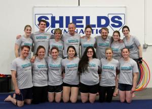 Gymnastics Team T Shirts