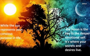sun and moon quote; loving this quote