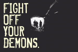 Brand New Fight Off Your Demons Artwork Fight off your demons art ...