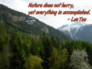 ... www.oyegraphics.com/quotes/achievement-quotes/nature-does-not-hurry