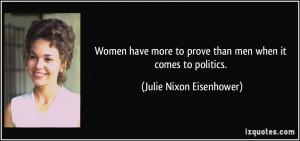 More Julie Nixon Eisenhower Quotes