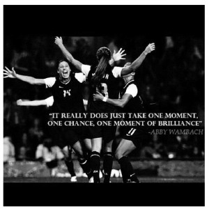 ... Wambach Quotes, Usa Soccer, Abby Wambach Quotes, Soccer Girls