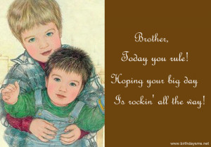 Funny Birthday Quotes For Younger Brother Younger brother quotes for