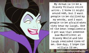 Walt Disney Villain Quotes