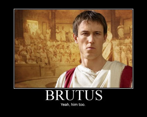 Document E: Any lines from the text: The Tragedy of Julius Caesar ...