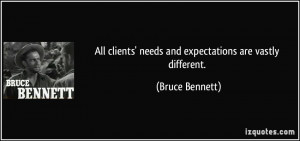 More Bruce Bennett Quotes