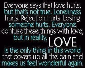 So much hurt and pain. Sad Quotes