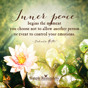 inner peace begins the moment you choose by unknown author inner peace ...