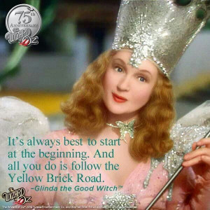 wizard of oz quotes glinda the good witch