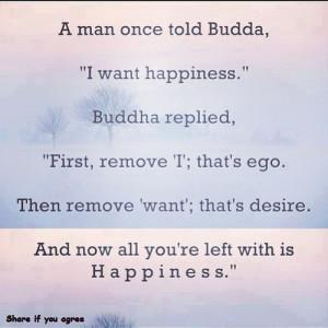 buddhanirvana: #Buddha #Quote #Happiness #Selfish #Ego #Desire by ...