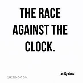 Jan Egeland - the race against the clock.