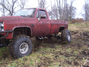 my old truck not really a mud truck 1 2 ton sucks