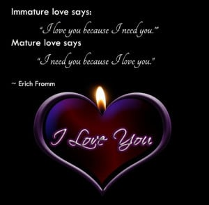 Mature love say i love you my quotes garden quotes about life