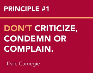 CARNEGIE'S Principles from How to Win Friends and Influence People ...