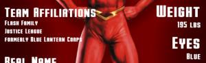 RIPT T-Shirts: The Flash Superhero Spotlight Graphic