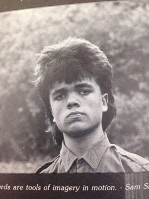 Peter Dinklage's High School Mullet Was Fluffier Than The Fluffiest ...