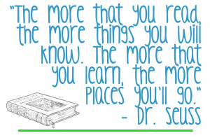 Font Binge Result: Dr. Seuss Quote