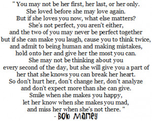 love Life, & Happiness : Bob Marley Quotes About Love ... - blog*spot