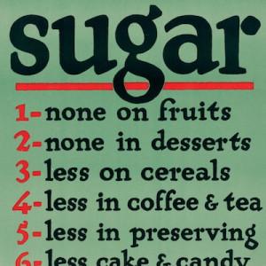 Sugar - save it!