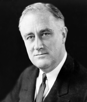 World War II Photo: Franklin D. Roosevelt