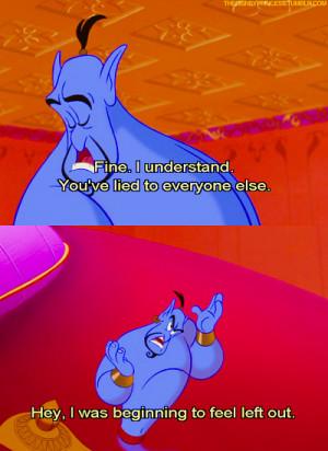 Genie Aladdin Quotes Aladdin genie
