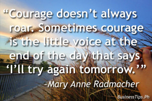 inspirational quotes about strength and courage