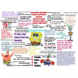Spongebob Squarepants Quotes About Friendship Pictures