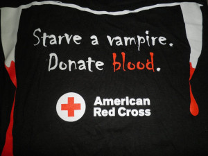 Starve Vampire Donate Blood