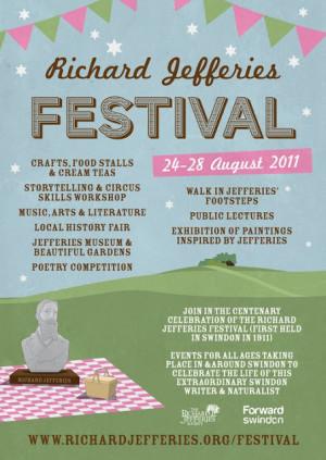 Richard Jefferies Festival Swindon August
