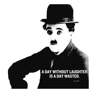 Charlie Chaplin Quote Canvas Art Print