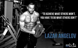 Lazar Angelov HD wallpaper   Motivation Quote