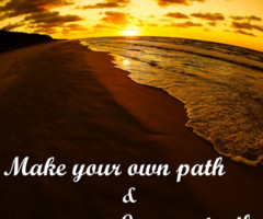 quotes about following your own path follow your own path