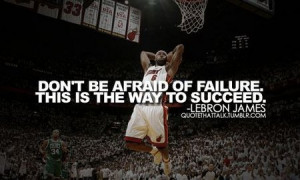 Motivational Quote: Lebron James