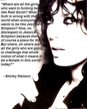 Shirley Manson ♥
