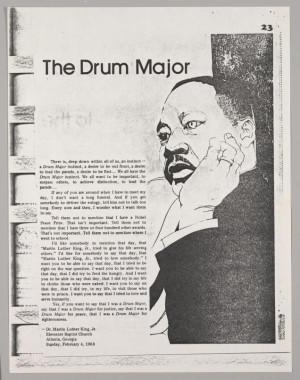 Excerpt from The Drum Major Instinct