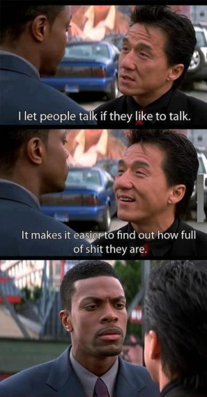 movies #rushhour Chris Tucker & Jackie Chan: Funny Shit, Jackie ...